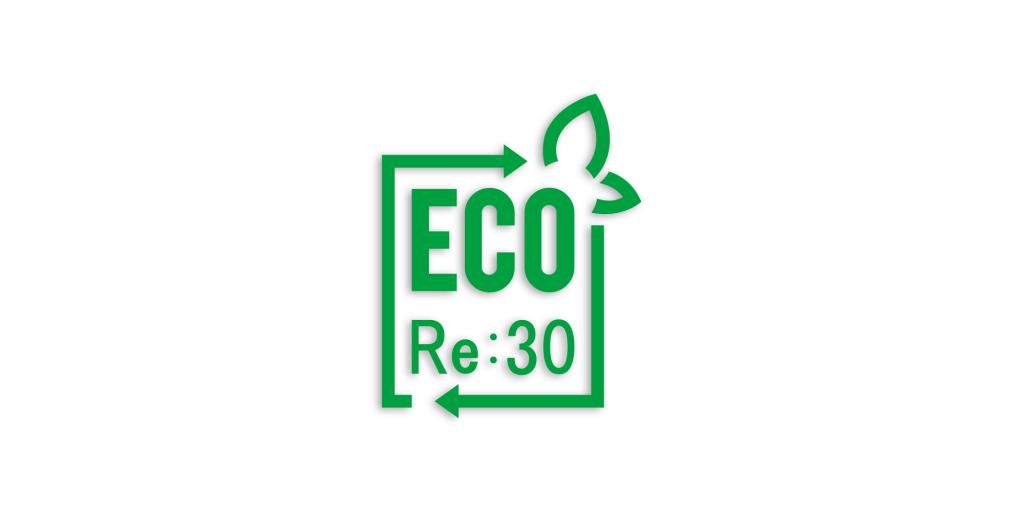 再生プラスチックロゴ